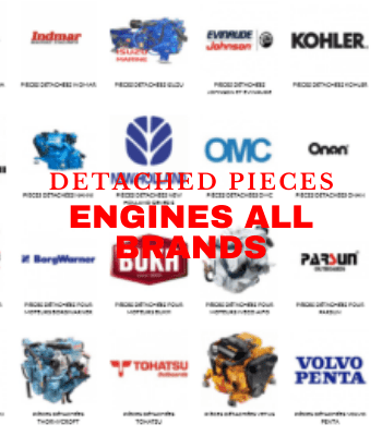 Detached pieces Engines all Brands