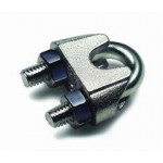 Wire Rope Clamps and Copper Sleeves